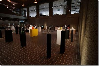 第8回ガラス教育機関合同作品展 ギャラリーA 右側