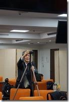 日本ガラス工芸学会大会 記念写真撮影風景