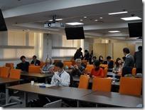 第一回日本ガラス工芸学会大会の模様