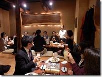 日本ガラス工芸学会大会 懇親会
