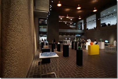 第8回ガラス教育機関合同作品展 ギャラリーA 左側