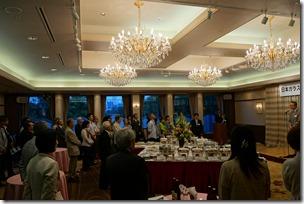 日本ガラス工芸学会創立40周年記念祝賀会 会長挨拶