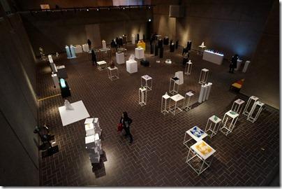 第8回ガラス教育機関合同作品展 ギャラリーA 上から