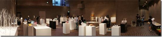 ガラス教育機関合同作品展 (GEN展) ギャラリーA パノラマ