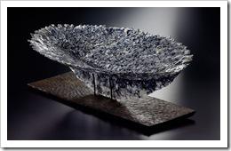 植物のかたち(小文間シリーズ) フュージング 53×79×24 2008